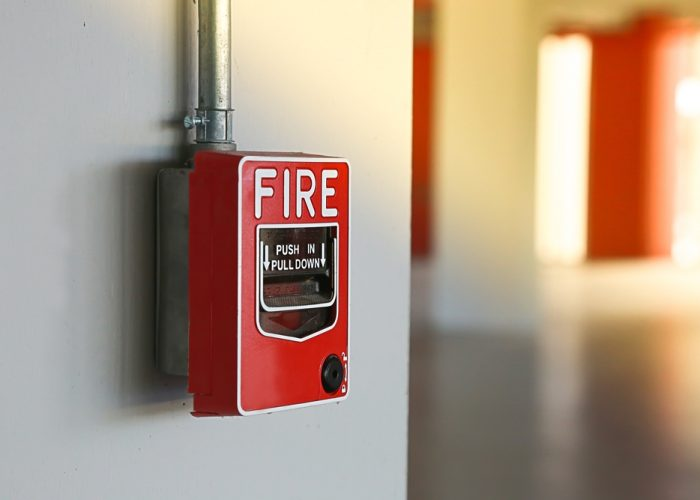 Fire-Pull-Station